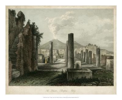 The Forum- Pompeii, Italy-Wolfensberger-Giclee Print