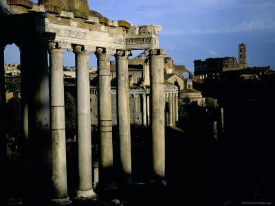 The Forum, Rome, Lazio, Italy-Oliviero Olivieri-Photographic Print