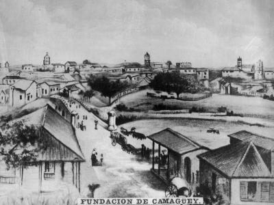 The Foundation of Camagüey, Cuba, C1910--Giclee Print