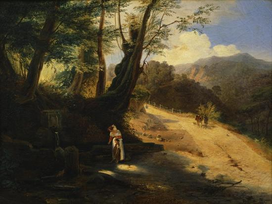 The Fountain in the Woods-Gaetano Donizetti-Giclee Print