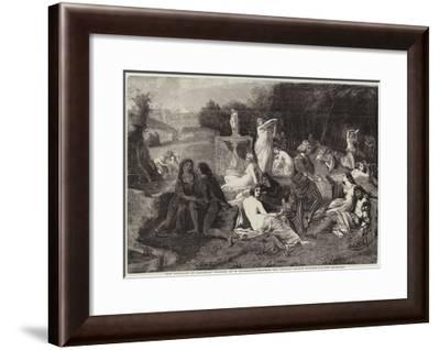 The Fountain of Jouvence--Framed Giclee Print