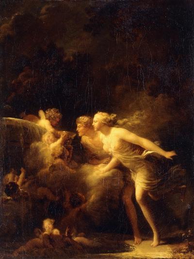 The Fountain of Love, 1780's-Jean-Honor? Fragonard-Giclee Print