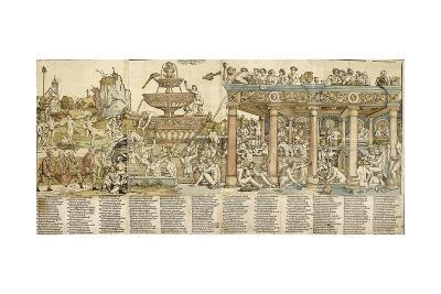 The Fountain of Youth, 1531-Hans Sebald Beham-Giclee Print