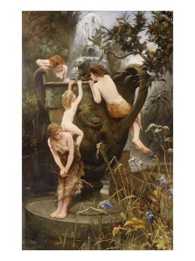The Fountain of Youth-Charles Napier Kennedy-Giclee Print
