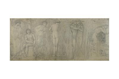 The Fountain of Youth-Edward Burne-Jones-Giclee Print