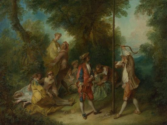 The Four Ages of Man: Maturity, Ca 1735-Nicolas Lancret-Giclee Print