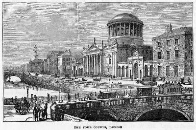 The Four Courts, Dublin, 19th Century--Giclee Print