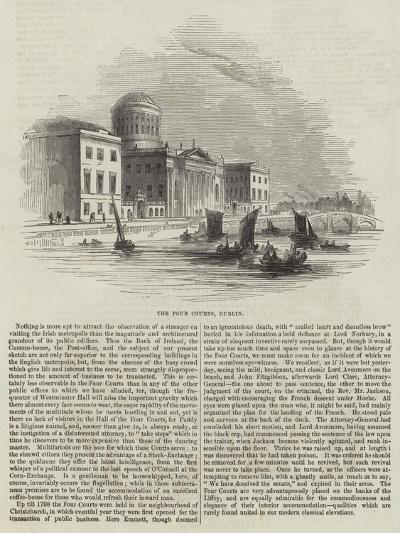 The Four Courts, Dublin--Giclee Print