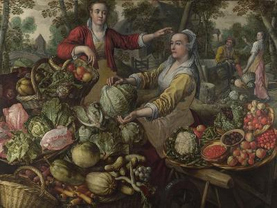 The Four Elements: Earth, 1569-Joachim Beuckelaer-Giclee Print