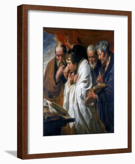 The Four Evangelists, 1620-1625-Jacob Jordaens-Framed Giclee Print