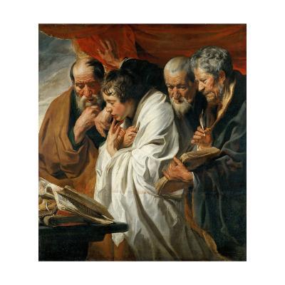 The Four Evangelists-Jacob Jordaens-Giclee Print