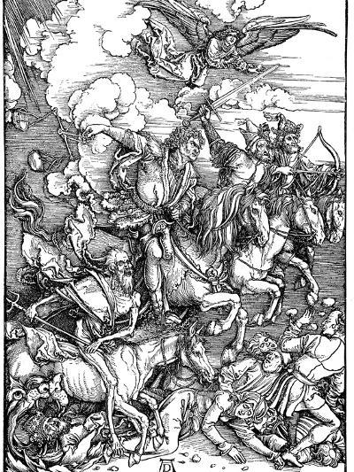 The Four Horsemen of the Apocalypse, 1498-Albrecht Durer-Giclee Print