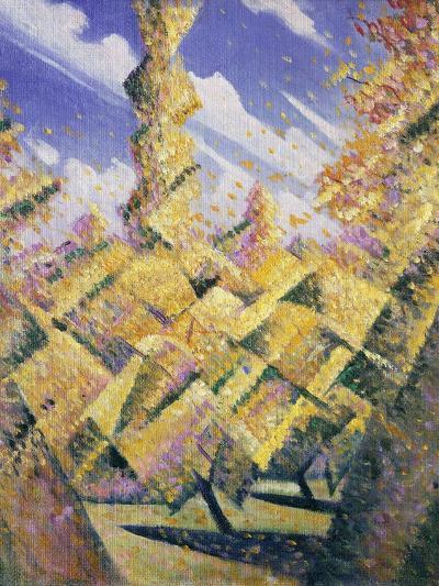 The Four Seasons: Autumn, C.1919-Christopher Richard Wynne Nevinson-Giclee Print