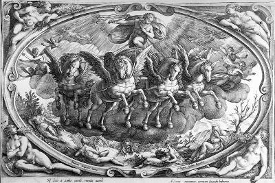 The Four Seasons, Engraved by Philip Galle, C.1580-Jan van der Straet-Giclee Print