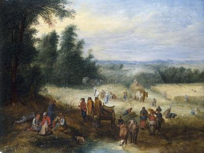 The Four Seasons - Summer-Theobald Michau-Giclee Print