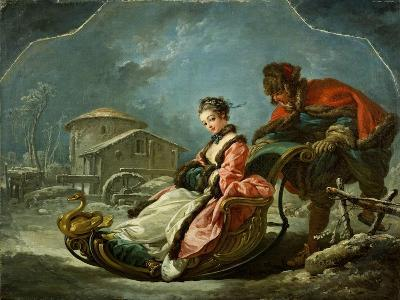 The Four Seasons: Winter, 1755-Francois Boucher-Giclee Print