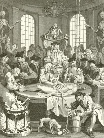 The Four Stages of Cruelty-William Hogarth-Giclee Print