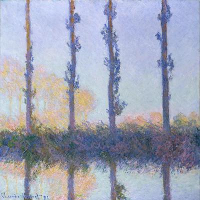 The Four Trees, 1891-Claude Monet-Giclee Print