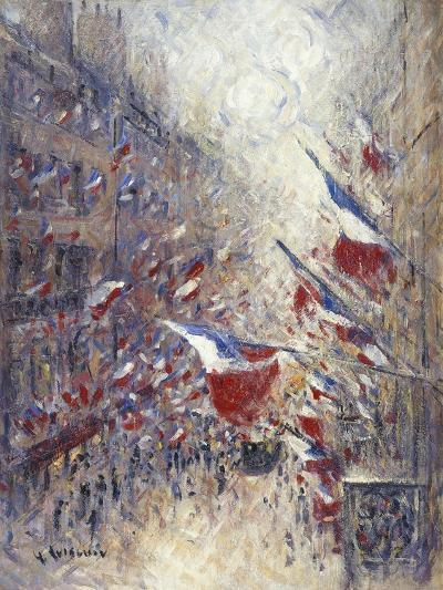 The Fourteenth of July in Paris-Gustave Loiseau-Giclee Print