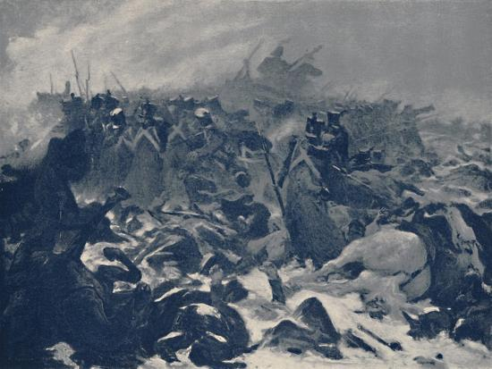'The Fourteenth of the Line at Eylau', February 1807, (1896)-Unknown-Giclee Print