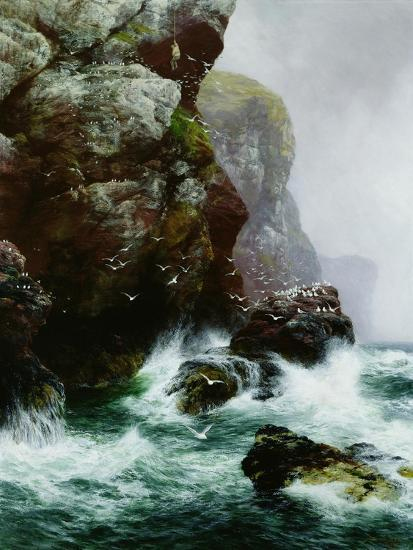 The Fowler's Crag, 1887-Peter Graham-Giclee Print