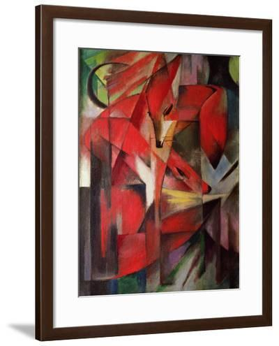 The Fox, 1913-Franz Marc-Framed Giclee Print