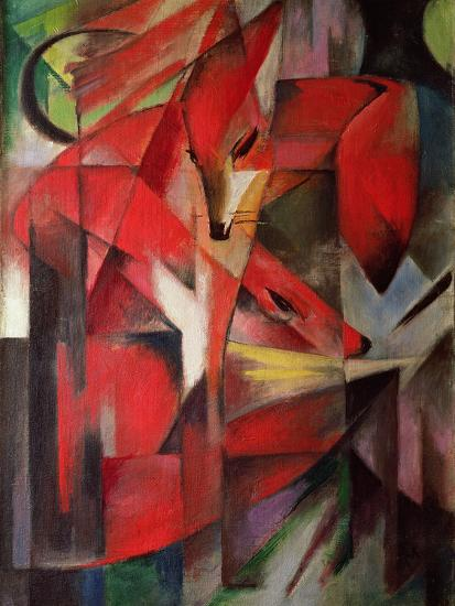 The Fox, 1913-Franz Marc-Giclee Print