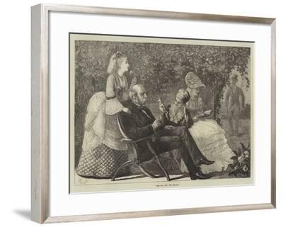 The Fox and the Grapes--Framed Giclee Print