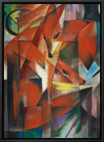 The Fox, c.1913-Franz Marc-Framed Canvas Print