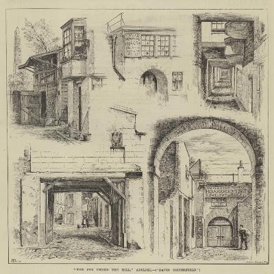 The Fox under the Hill, Adelphi, David Copperfield-Thomas Harrington Wilson-Giclee Print