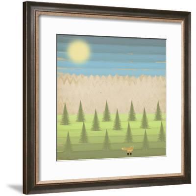 The Fox-Tammy Kushnir-Framed Giclee Print