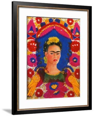 The Frame, c. 1938-Frida Kahlo-Framed Giclee Print