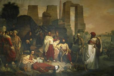 The Franco-Tuscan Archaeological Expedition to Egypt--Giclee Print