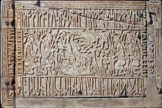 The Franks Casket, Anglo-Saxon, first half of the 8th century-Unknown-Giclee Print