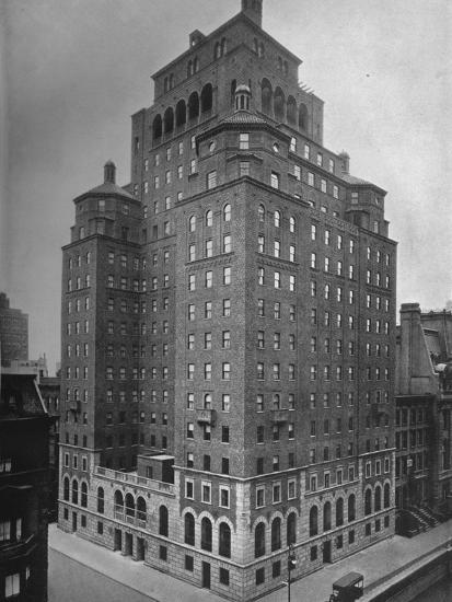 The Fraternity Clubs Building, New York City, 1924-Unknown-Photographic Print