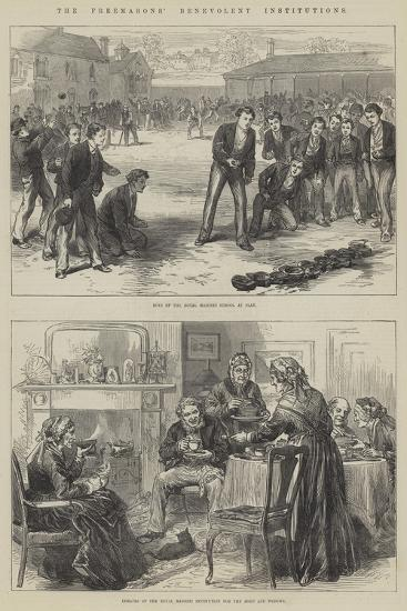 The Freemasons' Benevolent Institutions--Giclee Print