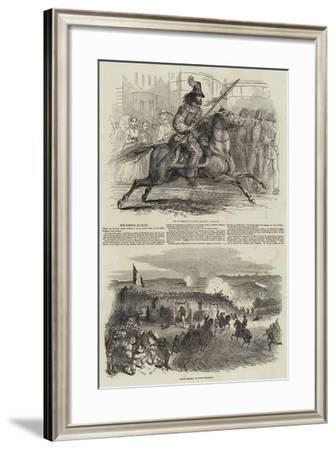 The French at Rome--Framed Giclee Print