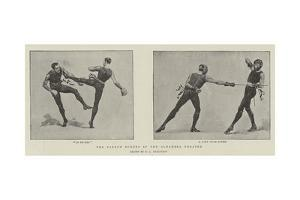 The French Boxers at the Alhambra Theatre