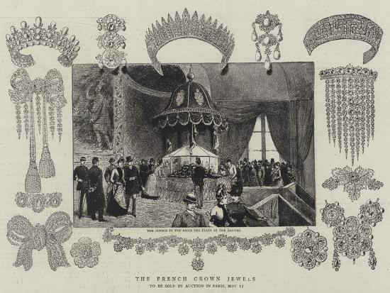 The French Crown Jewels--Giclee Print