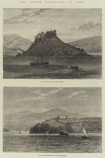 The French Expedition to Tunis-Sir John Gilbert-Giclee Print
