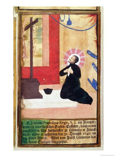 The French Father Jesuit Jean Francois Regis--Giclee Print