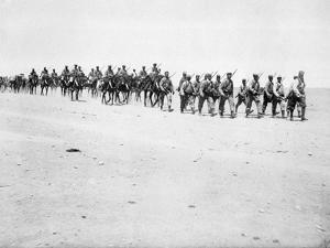 The French Foreign Legion on Manoeuvres, Boudenib, Morocco, 1911