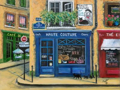 The French High Fashion Pet Shop-Marilyn Dunlap-Art Print