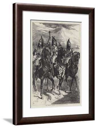 The French Imperial Guard, Cavalry--Framed Giclee Print