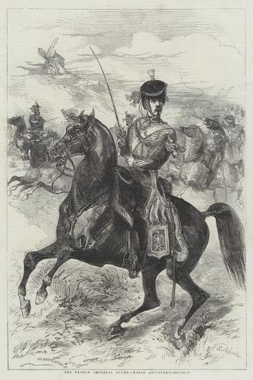 The French Imperial Guard, Horse Artillery-Edmond Morin-Giclee Print