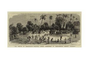 The French in Madagascar, Majunga, Lately Bombarded by Rear-Admiral Pierre's Squadron