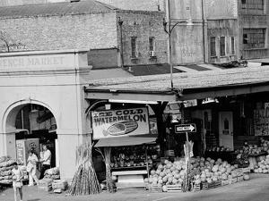 The French Market in New Orleans