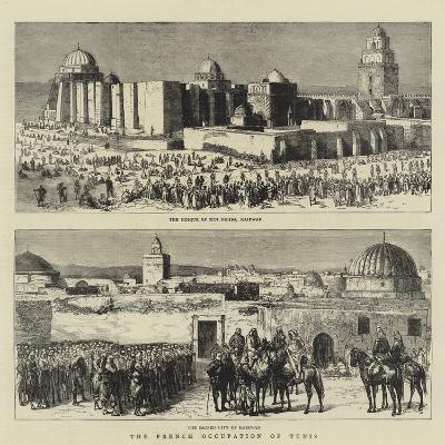 The French Occupation of Tunis--Giclee Print