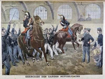 The French Republican Guard, 1899-F Meaulle-Giclee Print