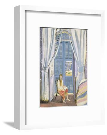 The French Window at Nice, Late 1919-Henri Matisse-Framed Art Print